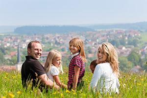 Wanderung Familien Rodenecker Alm